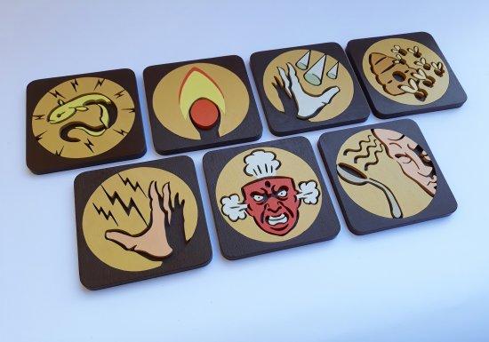 Handmade Bioshock Plasmids coaster set