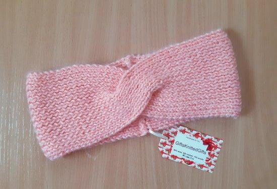 Hand Knit Headband, Hand Knit Ear Warmer, Warm Headband, Winter Headband, Knitted Headband for Women, Knit Accessories