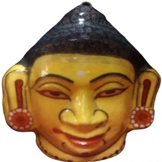 Papier Mache Mask of Lord Buddha