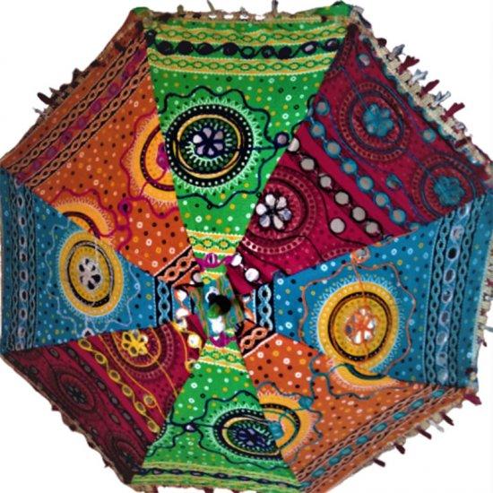 A Colourful Sun Umbrella