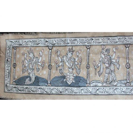 Dasavatar on Tasar Silk