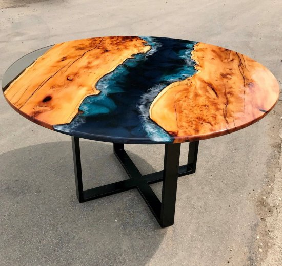 Coffee Table River Unique Coffee Table