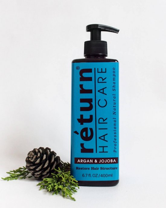 Organic Anti Hair Loss Shampoo / Natural Shampoo / Shampoo Anti-hair loss / Organic Hair Care / Vegan / Argan oil Shampoo and Jojoba oil