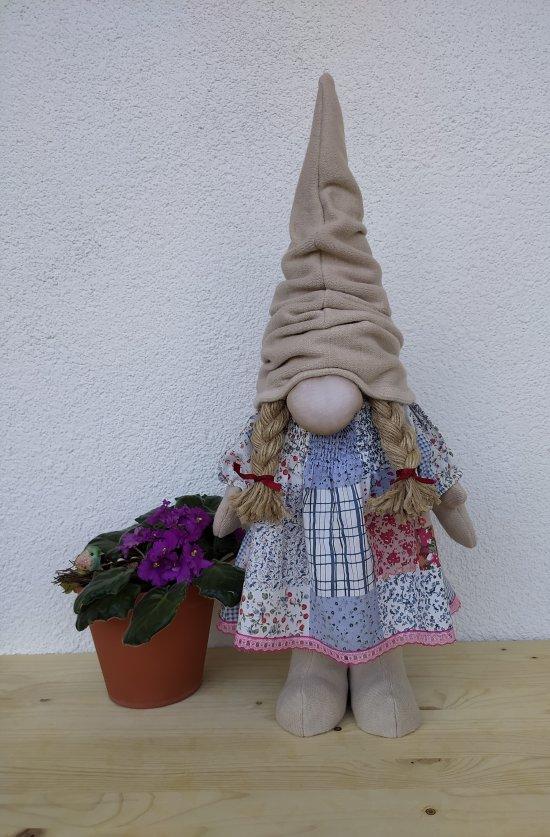 """Gnome """"a la attic doll"""" for interior and decor, as a gift."""