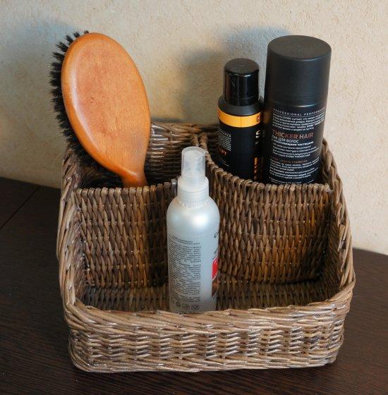 Wicker Makeup Storage Box
