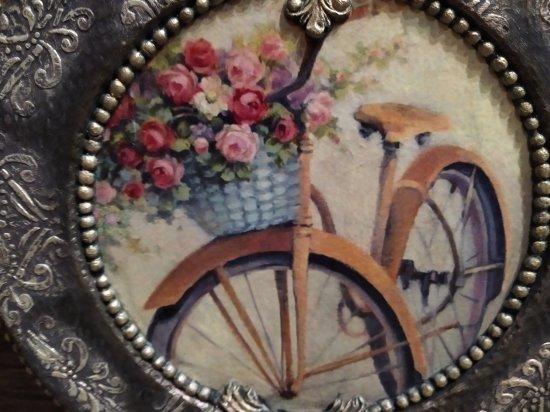 paper plate (decoupage)