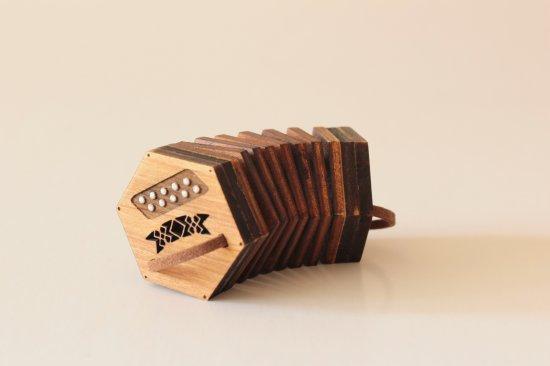 Concertina - TOY miniature replica - present