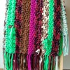 Fun, and colorful Gypsy Crochet Blanket