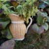 Wicker jug
