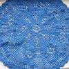 Beautiful knotted lace napkins handmade needlework crochet