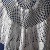 Beautiful knotted lace napkins handmade needlework crochet_1