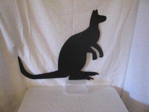 Kangaroo Metal Wall Art Silhouette
