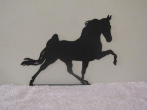 Walking Horse S Mail Box Topper Metal Art Silhouette