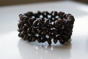 Handmade Brown Beaded Bracelet