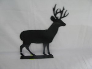 Deer 001 Mailbox Topper Metal Wildlife Wall Art Silhouette