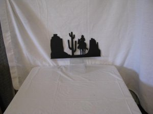 Scenic Arizona Mailbox Topper Metal Wall Yard Art