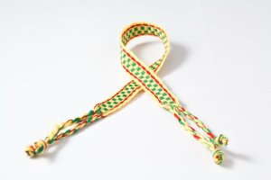 Yellow and Green Friendship Bracelet