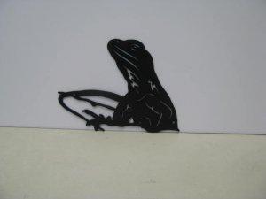 Lizard 006 Metal Wall Art Silhouette