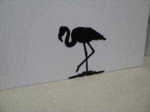 Flamingo 008 Metal Wall Art Silhouette