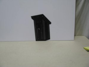Outhouse 011 Western Metal Art Silhouette