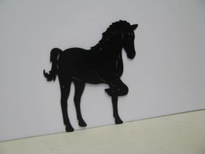 Horse 192 Western Metal Art Silhouette