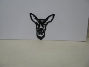 Deer 006 Wildlife Metal Art Silhouette