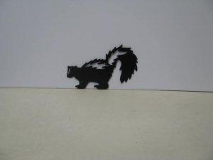 Skunk 004  Metal Art Silhouette