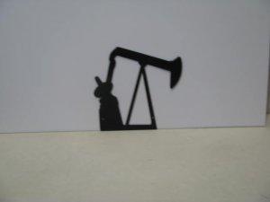 Energy 002  Metal Art Silhouette