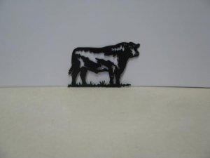 Bull 018  Farm Metal Art Silhouette