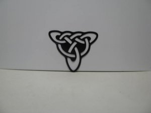 Celtic Knot 002 Metal Wall Yard Art Silhouette