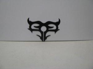 Tribal 0011 Metal Wall Yard Art Silhouette