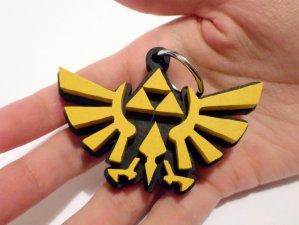 Handmade The legend of Zelda keychain