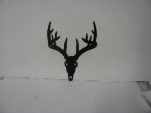Deer 292 Metal Wildlife Wall Yard Art Silhouette