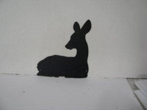 Deer 294 Metal Wildlife Wall Yard Art Silhouette