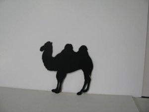 Camel 002 Metal Wall Yard Art Silhouette
