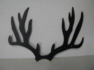 Deer Horns 298 Small Metal Art Silhouette