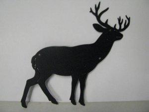 Whitetail Deer 155 Metal Art Wildlife Silhouette