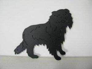 King Charles 348 Metal Art Silhouette
