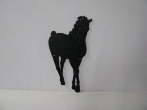 Horse 194 Large Walking Farm Metal Art Silhouette