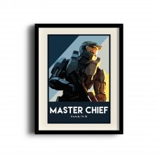 Halo 3 poster, Halo 3 digital art poster
