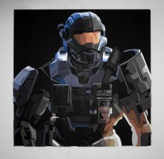 Handmade Halo Reach, Halo Reach wall art