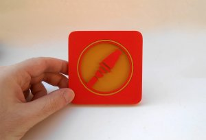 Handmade Soldier, Team Fortress 2 coaster