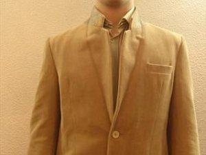 Men vintage cordoroy blazer Size M