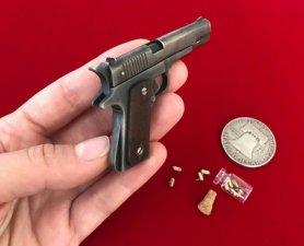 2mm pinfire gun Slide Colt 1911