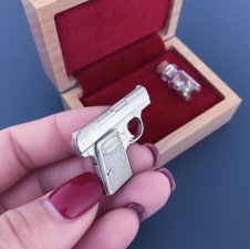 2mm pinfire gun FN Baby Browning
