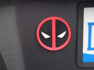 Deadpool Logo Emblem Magnet 3D