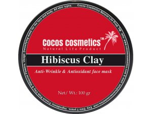 Hibiscus floral Clay Mask/ Hibiscus Facial Mask/ Pink Clay Mask/ Hibiscus Powder Face Mask/ Mature Skin Mask/