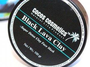 Black Lava Charcoal Clay Mask / Acne Treatment clay mask / Black Head Clay Mask / Acne Fighting Facial mask