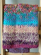 Fun, and Colorful Bohemian Crochet Blanket