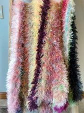 Funky and Fuzzy Crochet Blanket